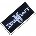 Star Craft II Game Style-1 Embroidered Iron On Patch