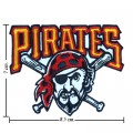 Pittsburgh Pirates Style-1 Embroidered Iron On Patch
