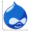 Drupal Style-1 Embroidered Iron On Patch
