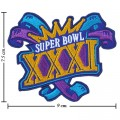 Super Bowl XXXI 1996 Style-31 Embroidered Iron On Patch