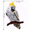 Cockatoo Style-2 Embroidered Iron On Patch