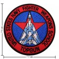 US Navy Fighter Weapons School Top Gun Style-2 Embroidered Iron On Patch
