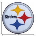 Pittsburgh Steelers Style-1 Embroidered Iron On Patch