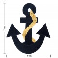 Anchor Style-13 Embroidered Iron On Patch