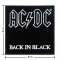 ACDC Music Band Style-3 Embroidered Iron On Patch