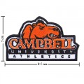 Campbell Fighting Camels Style-1 Embroidered Iron On Patch