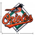 Baltimore Orioles Style-1 Embroidered Iron On Patch
