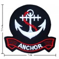 Anchor Style-4 Embroidered Iron On Patch