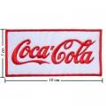 Coca Cola Coke Style-4 Embroidered Iron On Patch