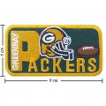 Green Bay Packers Style-2 Embroidered Iron On Patch