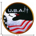 Shuttle USA Commemorative Embroidered Iron On Patch