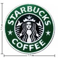 Starbucks Coffee Style-1 Embroidered Iron On Patch