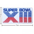 Super Bow XIII 1978 Style-13 Embroidered Iron On Patch