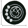 Blink 182 Music Band Style-1 Embroidered Iron On Patch