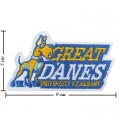 Albany Great Danes Style-1 Embroidered Iron On Patch