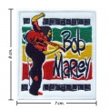 Bob Marley A Reggae Ska Band Style-12 Embroidered Iron On Patch