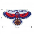 Atlanta Hawks Basketball Style-1 Embroidered Iron On Patch