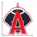 LA Angels Of Anaheim Style-2 Embroidered Iron On Patch