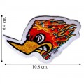 Wild Woody Woodpecker Style-1 Embroidered Iron On Patch