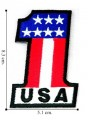 American Flag Style-8 Embroidered Iron On Patch