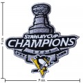 Pittsburgh Penguins Style-6 Embroidered Iron On Patch