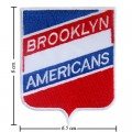 Brooklyn Americans The Past Style-1 Embroidered Iron On Patch
