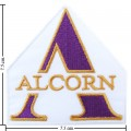 Alcorn State Braves Style-1 Embroidered Iron On Patch