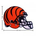 Cincinnati Bengals Helmet Style-1 Embroidered Iron On Patch