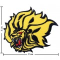 Arkansas Pine Bluff Golden Lions Style-1 Embroidered Iron On Patch