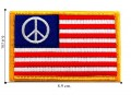 American Flag Style-7 Embroidered Iron On Patch