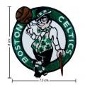 Boston Celtics Style-1 Embroidered Iron On Patch