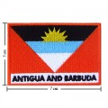 Antigua And Barbuda Nation Flag Style-2 Embroidered Iron On Patch