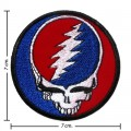 Grateful Dead Music Band Style-2 Embroidered Iron On Patch