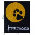 Twilight Book Series New Moon Style-1 Embroidered Iron On Patch