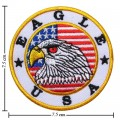 Eagle USA Style-1 Embroidered Iron On Patch