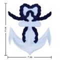 Anchor Style-10 Embroidered Iron On Patch