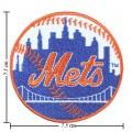 New York Mets Style-1 Embroidered Iron On Patch