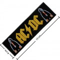 ACDC Music Band Style-1 Embroidered Iron On Patch