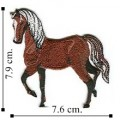 Horse Style-3 Embroidered Iron On Patch