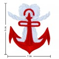 Anchor Style-11 Embroidered Iron On Patch
