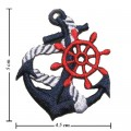 Anchor Style-17 Embroidered Iron On Patch