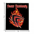 Fear Factory Music Band Style-2 Embroidered Iron On Patch