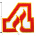Atlanta Flames The Past Style-1 Embroidered Iron On Patch