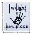 Twilight Book Series New Moon Style-2 Embroidered Iron On Patch