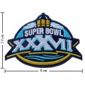 Super Bowl XXXVII 2002 Style-37 Embroidered Iron On Patch