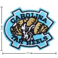 North Carolina Tar Heels Style-1 Embroidered Iron On Patch