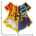Harry Potter Hogwarts School Style-1 Embroidered Iron On Patch