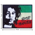 Bob Marley A Reggae Ska Band Style-14 Embroidered Iron On Patch