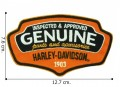 Harley Davidson Reliable Embroidered Iron On Patch
