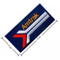 Amtrak Train Style-2 Embroidered Iron On Patch